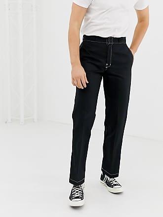 Dickies 874 - Pantalon chino style workwear avec surpiqûres contrastantes -  Noir - Noir d023048e49b