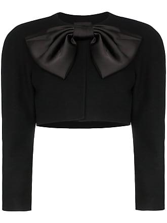 We11done bow embellished bolero jacket - Black