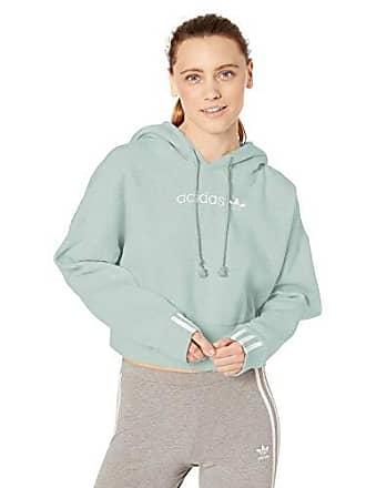 88ec19e8c adidas Originals Womens Coeeze Cr Hoodie, Vapour Green, X-Small