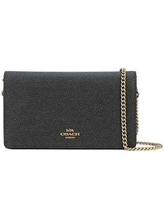 6fcc47114222 Prairie Satchel In Polished Pebble Leather. AUD  345.00. Delivery  Delivery  costs apply. Coach foldover chain clutch - Black