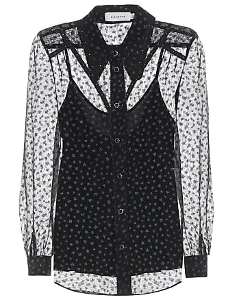 Coach Star-printed georgette blouse