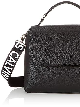 Calvin Klein Ckj Ultra Light Flap Shoulderbag, Womens Satchel, Black, 1x1x1 cm (W x H L)