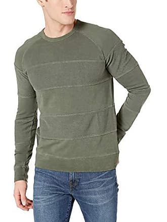 dbbf0b1d5030eb French Connection Mens Long Sleeve Graphic Sweatshirt, Infantry Green  Sweat, XL