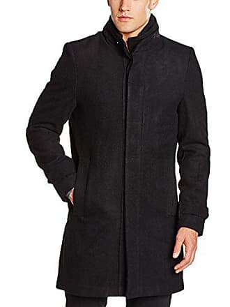 39083020fa289 Best Mountain MAH2503HA, Trench Coat Homme, Noir, X-Large (Taille Fabricant
