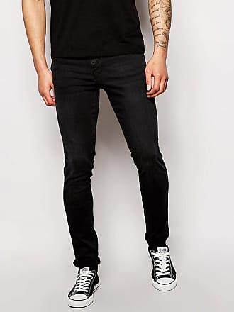 Dr. Denim Snap - Svarta skinny jeans