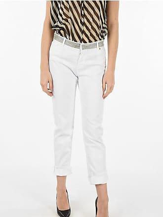 Alexandre Vauthier rhinestone embellished jeans size 29