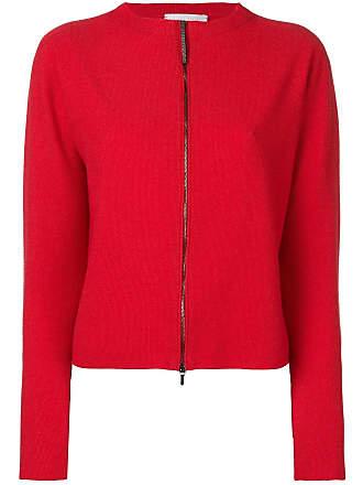 Fabiana Filippi zip front cardigan - Red