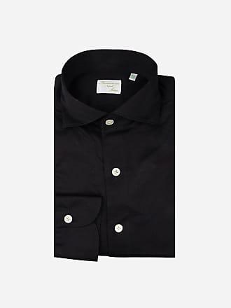 Overhemd Zwart Heren.Finamore Overhemden Met Lange Mouw Voor Heren 110 Producten Stylight
