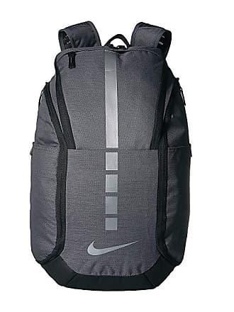 f99a58089523 Nike Hoops Elite Pro Backpack (Dark Grey Black Metallic Cool Grey) Backpack
