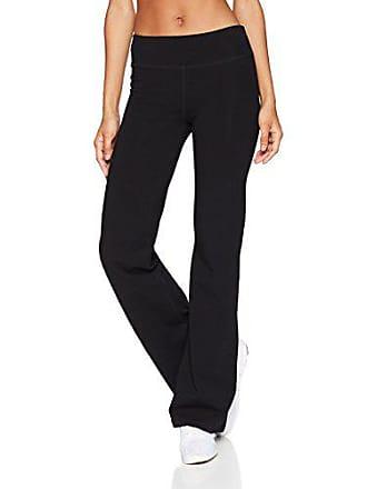 6041fc3c893a47 Starter Womens Performance Cotton Yoga Pants, Amazon Exclusive, Black,  Extra Large