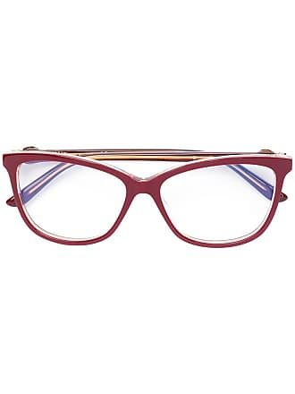 Cartier square-frame glasses - Red