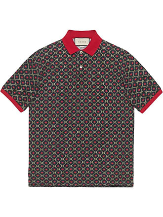 1f3252486 Gucci Oversize polo with GG star print - Multicolour