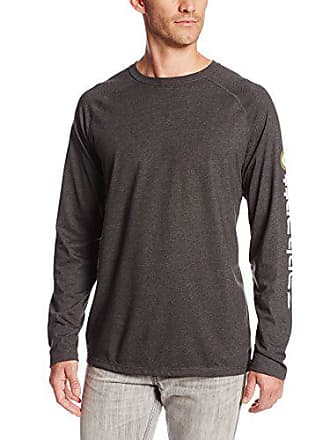 Carhartt Work in Progress Mens Force Cotton Delmont Sleeve Graphic T-Shirt,Carbon Heather,XX-Large