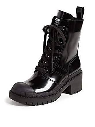 5eb4117a336 Marc Jacobs Womens Bristol Laced UP Boot Ankle, Black, 35 M EU (5