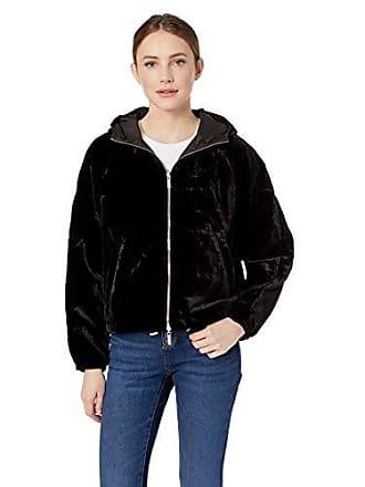 A|X Armani Exchange Womens Reversible Bomber Jacket, Black, S