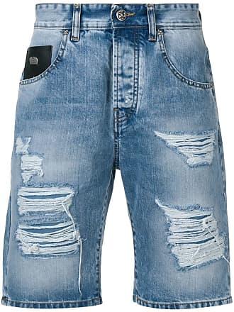 John Richmond Bermuda jeans - Azul