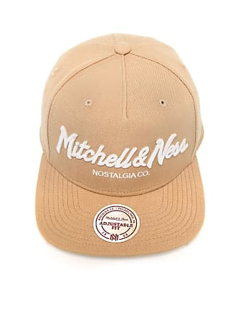 Mitchell   Ness Boné Mitchell   Ness Snapback Pinscript Bege c02d81631db