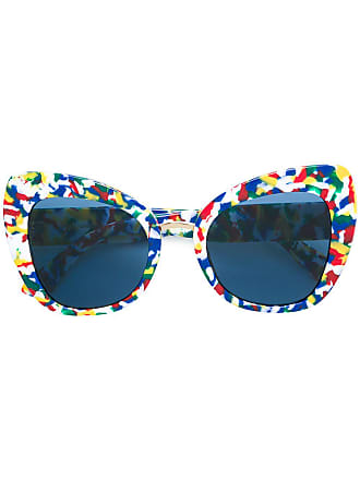 35e6be426fdb Dolce   Gabbana Eyewear Limited Edition printed butterfly sunglasses -  Multicolour