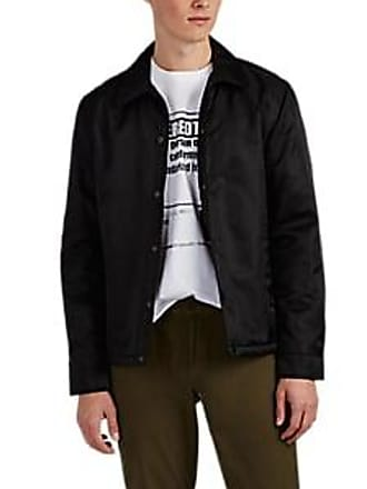 Barneys New York Mens Insulated Coachs Jacket - Black Size S