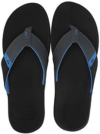 521c8df59 Reef Mens Ortho-Bounce Sport Sandal Black Blue 080 M US