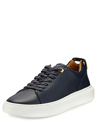 Buscemi Mens 50mm Leather Low-Top Sneakers