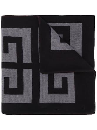 Givenchy logo scarf - Cinza