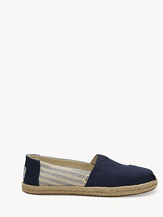 e6b08d045a Toms Womens Alpargata Canvas Flats Navy Size 10 From Sole Society