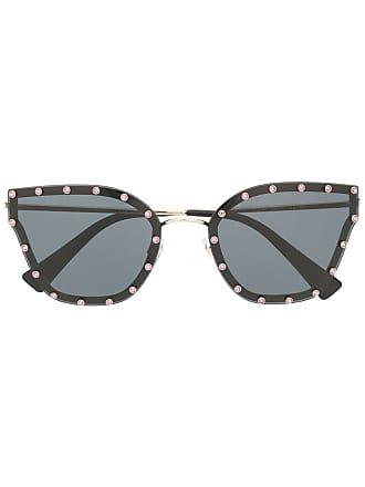 Valentino cat eye sunglasses - Black