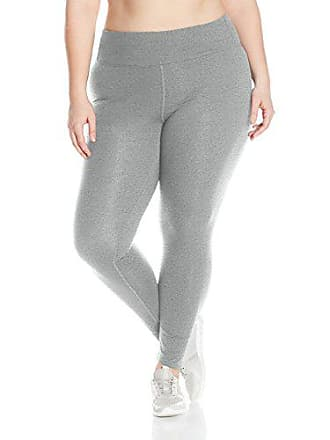 Fruit Of The Loom Fit for Me by Fruit of the Loom Womens Plus Size Graphic Legging, Medium Grey Heather/Flawless Print, 4X