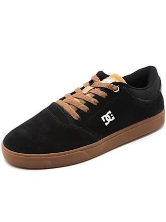 DC Tênis Couro DC Shoes Crisis La Preto
