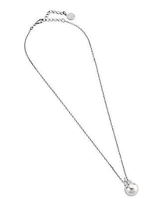 8cff85b92ede Majorica Tu Y Yo - Collar de Plata de Ley con Perla