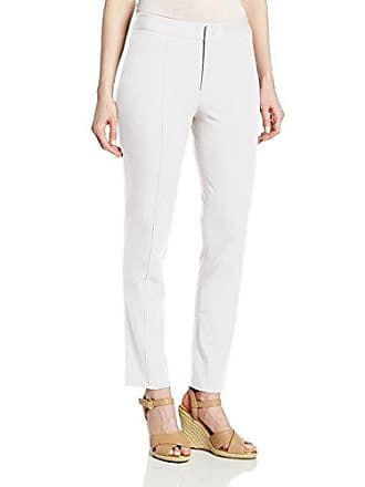 NYDJ Womens Bi-Stretch Ankle Pant, Optic White, 0