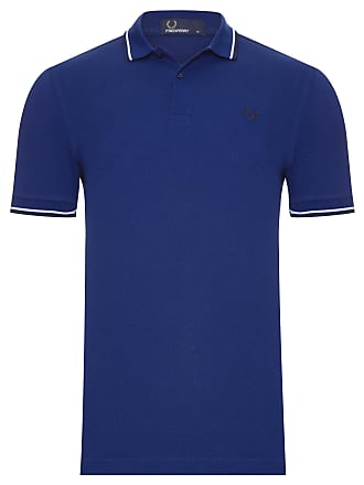 Fred Perry POLO TWIN TIPPED - AZUL