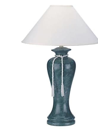 ORE Ore International 6200BG Ceramic Table Lamp - Burgundy