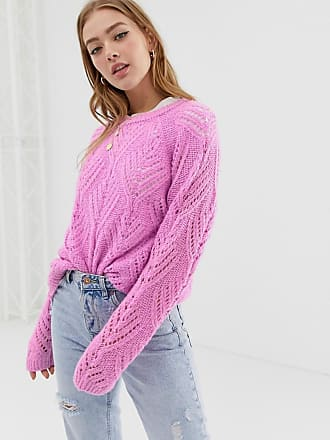 Only cable knit sweater - Purple