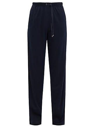 Zimmerli Jersey Lounge Trousers - Mens - Navy