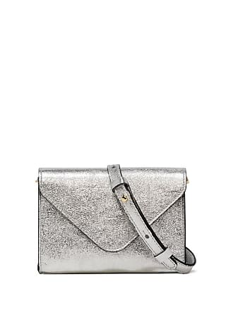 Gianni Chiarini greta small silver mini bag