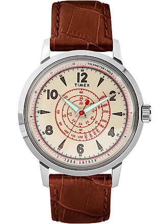 Timex X Todd Snyder Beekman 40MM Leather Strap Watch