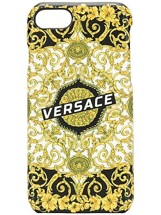 Versace Capa para iPhone 7/8 estampado - Preto