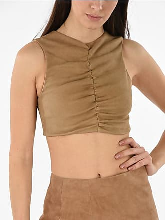 Drome Suede Leather Top size S