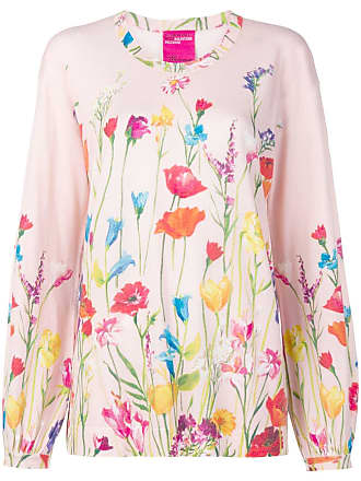 Blumarine floral print jumper - Rosa
