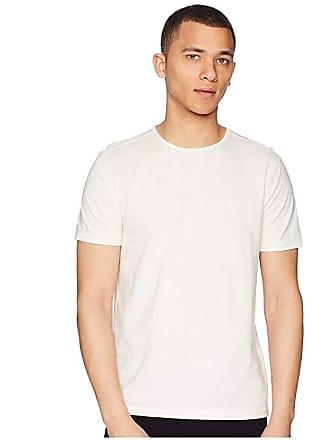 John Varvatos Short Sleeve Knit Crew Neck T-Shirt K1762R2 (Eggshell) Mens T Shirt