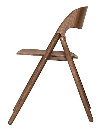 Case Furniture Narin Folding Chair Walnut