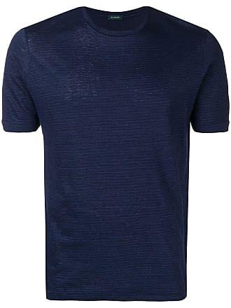Zanone Camiseta listrada - Azul