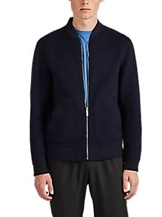 e94f10e07666a Theory Mens Double-Faced Cashmere Bomber Jacket - Navy Size M