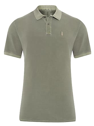 Pineapple POLO MASCULINA STONED - VERDE