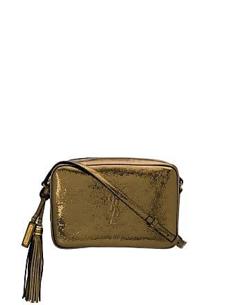 2c073f93027a Saint Laurent metallic cross body bag - Gold