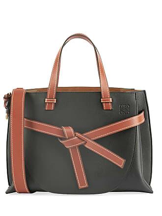 459434e2b2ca Loewe Gate Small Leather Top-Handle Tote Bag