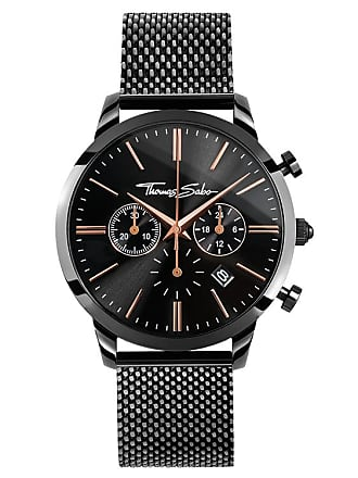 Thomas Sabo Thomas Sabo Mens Watch black WA0247-202-203-42 MM