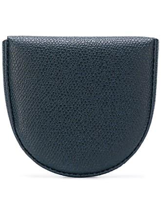 Valextra Tallone coin purse - Blue